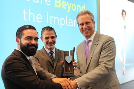 BIOTRONIK winner of Cardiostim Award 2016