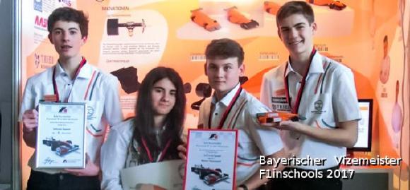 Mit Vollgas an die Spitze: Bayerischer Vizemeister der F1 in Schools wird von CADENAS unterstützt