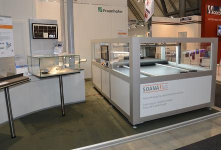 Ausstellungsfläche der SHS Technologies GmbH auf der Blechexpo Stuttgart