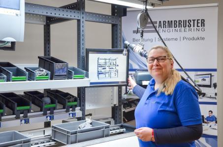 Teamleiterin Projekte bei Armbruster Engineering: Ilka Kniep