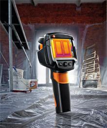 Wärmebildkamera testo 870 speziell für Handwerker