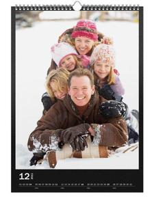 Personalised Calendar on Photographic Paper