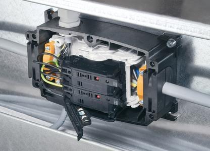 Weidmüller FieldPower® ? PowerBox® Fuse zur Absicherung von Lasten, Abgängen und Verzweigungen sowie bei Reduzierung des Leiterquerschnitts.