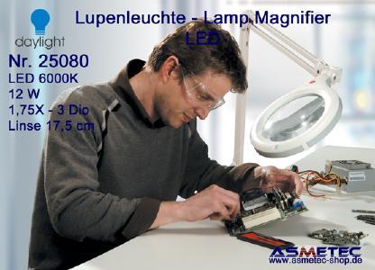 Daylight LED-Lupenleuchte 25080