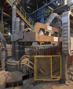 Twin-ladle furnace built by SMS group
