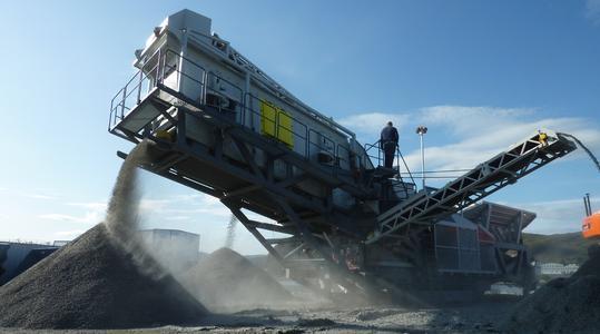 Testläufe im Herbst 2009 in der norwegischen Polargrenregion, Vigra.
