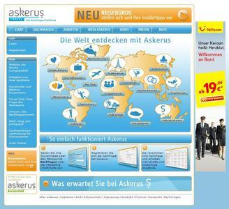 Askerus-Travel konnte Reisenachfragen im Wert von 3,5 Mio. Euro einsammeln