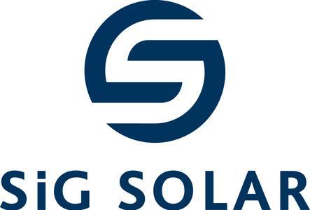 Logo der SiG Solar Group