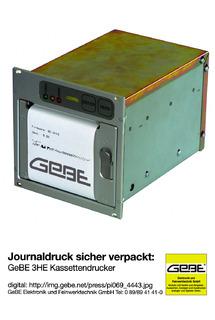 Journaldruck sicher verpackt