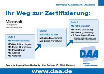 DAA-Prüfungszentren für Microsoft Office-Anwendungen erweitern ihr ...