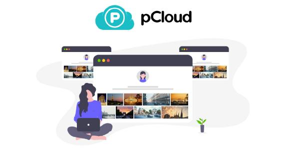 Branded-Links von pCloud