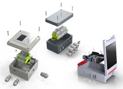 Aluminiumgehäuse von ROSE sind in zahlreichen Baugrößen und Ausführungen erhältlich