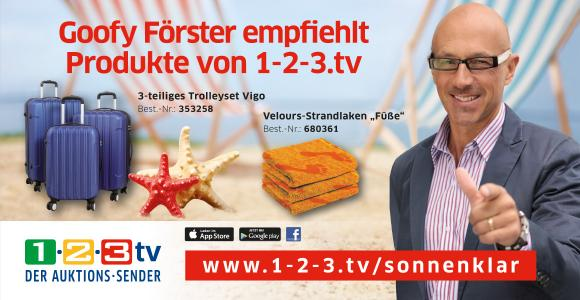 Kooperation sonnenklar.TV / 1-2-3.tv