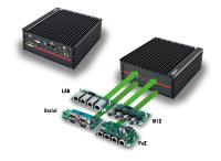 Created for extremes: Modular Embedded PC with XEON Power and 10x PoE