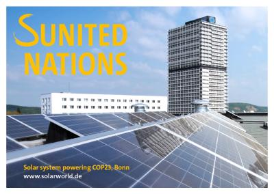 SUNITED Nations - Solar power for Climate Change Conference