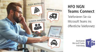 HFO NGN Teams Connect verleiht MS Teams eine Stimme