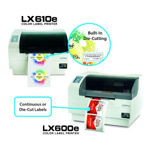 LX610e Pro & LX600e – dream team for on-demand, short-run, full-colour label production