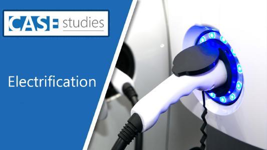 Electrification - eines der Themenschwerpunkte des CASE-Webcasts von SBD Automotive