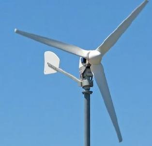 Kleinwindkraftanlage Braun