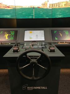 State-of-the-art ship's bridge simulation: Rheinmetall transfers nautical training facility to German Navy
