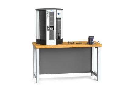 MAPAL präsentiert den kostengünstigen Einzelausgabeautomaten UNIBASE-S, um häufig benötigte Verbrauchsmaterialien dezentral und platzsparend lagern und verwalten zu können.