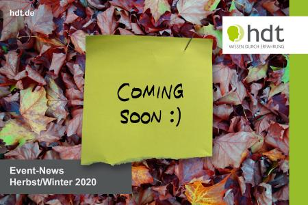 Event-News statt Herbstblues: HDT schafft Lichtblicke für die dunkle Jahreszeit