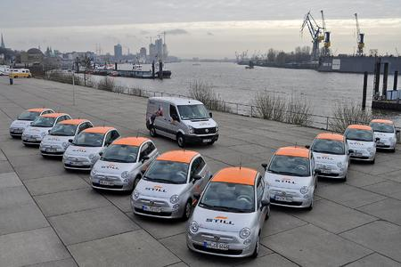 Karabag-Flotte und STILL Servicewagen, Foto: STILL GmbH