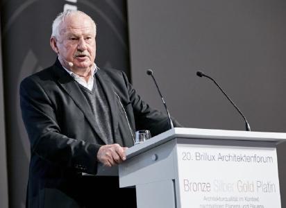 Prof. Dr.-Ing. Dr. h.c. Gerhard Hausladen, Professor für Bauklimatik und Haustechnik der Technischen Universität München + Ingenieurbüro Hausladen / Foto: Brillux