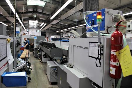 Einblick in die Produktion bei der Gläser Automatendreherei GmbH