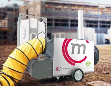 Die Mobil in Time Pellfix® Pellet-Warmluftheizungen bringen höchste Effizienz und den bestmöglichen Wirkungsgrad.