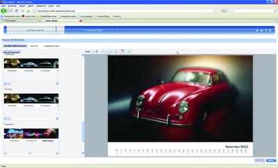 Individueller Porsche-356-Kalender