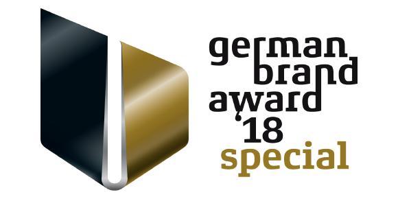Auszeichnung German Brand Award 2018