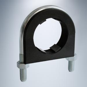 Round steel U-bolt as per DIN with two-part ACT insert  (Courtesy of Walter Stauffenberg GmbH & Co. KG)