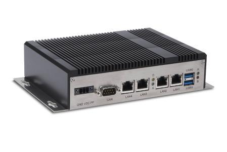 Der Embedded-Box-PC OEM S81 von Syslogic eignet sich speziell für fahrerlose Transportsysteme (FTS) und autonome Roboter.