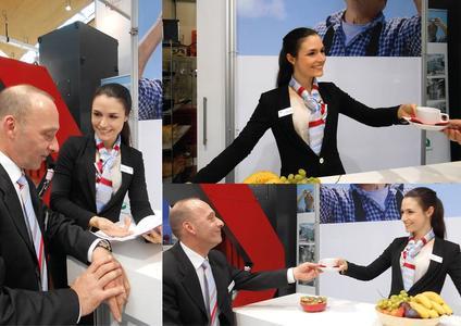 interpret GmbH - Premium Hostessen für eine stilvolle  Messepräsentation