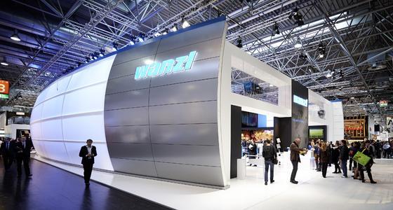 EuroShop 2014: Die Wanzl Arena sendete starke Signale an den weltweiten Handel (Foto: Wanzl Metallwarenfabrik GmbH)