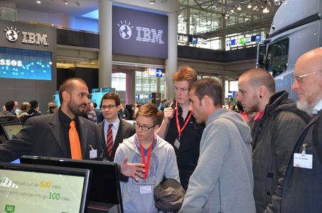 Azubi-Tag auf der CeBIT 2012: Netzlink zieht eine positive Bilanz