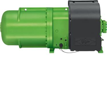 Image 1: BITZER's CSVH2 compact screw compressors are optimised for air-cooled liquid chillers and heat pumps