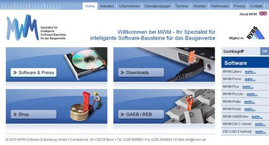 mwm.de - Die neue Internetseite