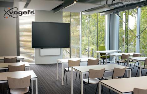 Vogels PFWE 7150 elektrische Display Wandhalterung 42-86 Zoll Anwendung Präsentation