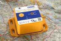 Revolutionär: Der Transport-Datenlogger MSR175plus mit GPS erfasst Schockwerte gleichzeitig mit ±15 g und ±200 g.