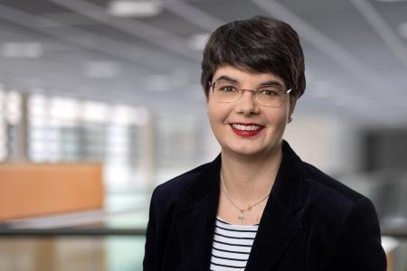Die Vizepräsidentin für Studium und Lehre, Prof. Anja Geigenmüller,  Foto TU Ilmenau Michael Reichel