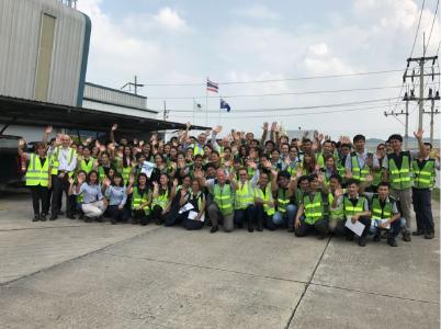 The approximately 70 employees of MHG Thailand will be taken over and are looking forward to the future at Huf Thailand