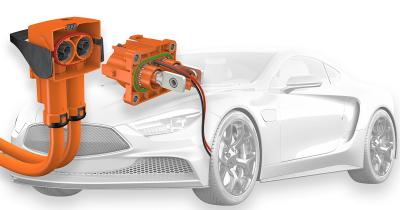 PerforMore is a two-pole high-voltage connector for use in electric vehicles and offers maximum flexibility for vehicle developers. It can be used in a wide range of drive-train interfaces, including batteries, inverters and high-voltage distribution units.