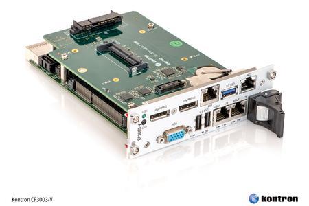 New Kontron CompactPCI® single-board computer CP3003-V