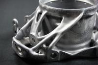 AMendate ermöglicht die vollautomatische Generierung idealer Leichtbaustrukturen für den 3D-Druck / Quelle: AMendate
