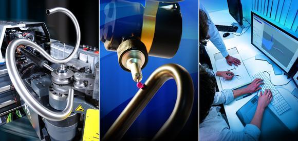 Maschinen, Messtechnik und Softwarelösungen für Rohre