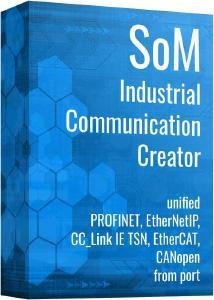 """port bringt ein brandneues """"Industrial Communication Creator Tool"""" auf den Markt - es vereint die von port unterstützten Technologien CANopen, PROFINET, EtherNet / IP (DLR), EtherCAT und CC-LinkIE TSN ** in einer Eclipse-basierten Runtime"""