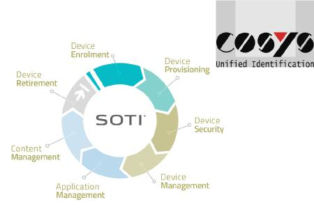 COSYS Mobile Device Management Software, Soti