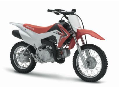 Traum aller jugendlichen Einsteiger: die neue Honda CRF110F (Abbildung zeigt US-Modell)
